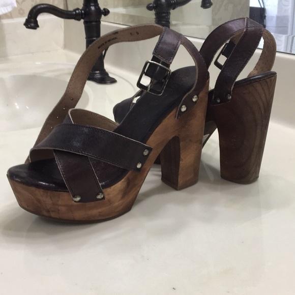 73e3aae6f956 Bed Stu Shoes - BedStu Madeline Platform Sandal US 8 M